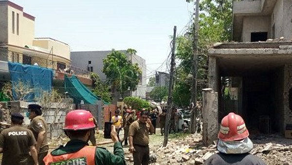 2 killed, 16 injured in blast near Hafiz Saeed's home in Lahore