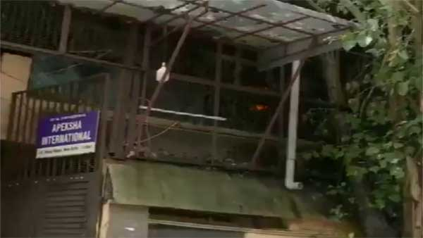 Fire breaks out at shoe factory in West Delhi