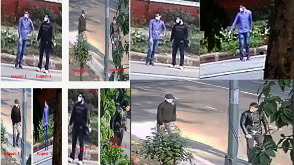 Israel Embassy blast: The NIA is looking for these men, watch CCTV footage