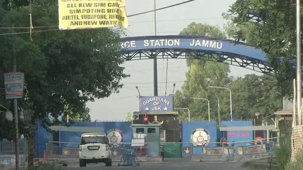In first of its kind attack on Air Force Base in Jammu, one explosive missed its intended target