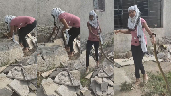 This girl has no fear: Watch viral video of her catching a snake effortlessly