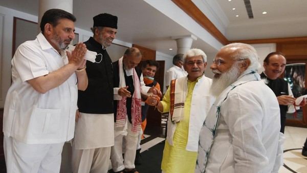 PM Modis meeting with Jammu and Kashmir leaders LIVE: Committed to restoring statehood PM Modi assures