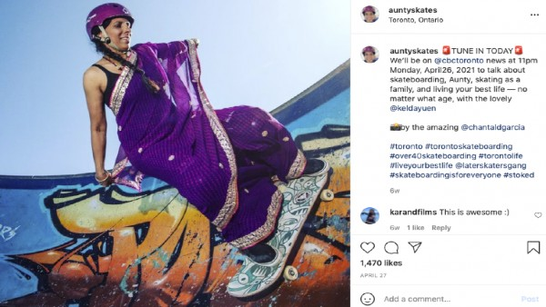 Viral Video: Meet 'Aunty skates', 46-year-old woman who is breaking the stereotypes wth her skateboards