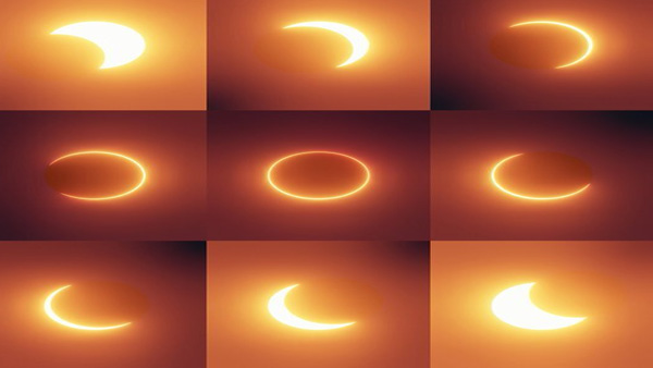 A Ring of fire Solar Eclipse delights skygazers