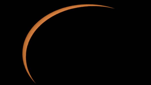Magucal view of annular solar eclipse