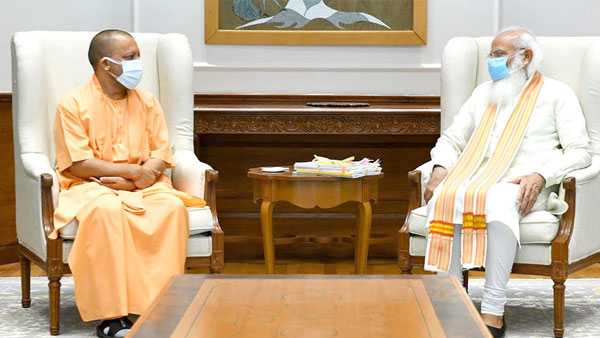 Yogi meets PM Modi, holds discussions for over an hour