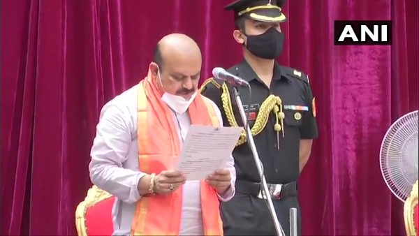 Basavaraj Bommai sworn-in as 23rd Chief Minister of Karnataka