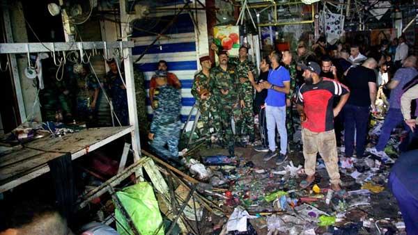 Iraq: Market bomb attack kills 30, including children