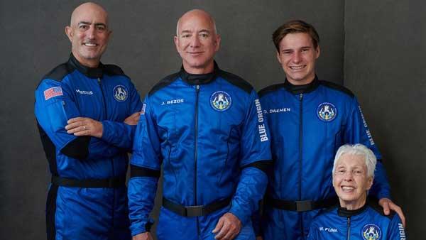 Jeff Bezos' trip to space: Where to watch Blue Origin spaceflight today?