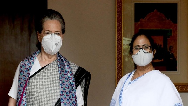 West Bengal CM Mamata Banerjee meets Congress President Sonia Gandhi amid Opposition unity move