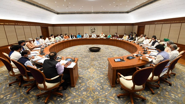After more than a year, PM Modi to chair in-person Union Cabinet meeting today