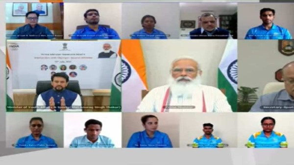 Tokyo Olympics 2020: PM Modi interacts with Indian contingent