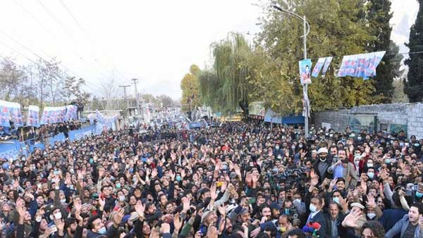 Protests erupt in PoK as allegations of polls being rigged emerge