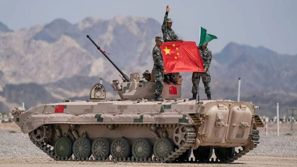 PLA celebrates CPC's centenary at Galwan Valley, with message, Never Yield An Inch