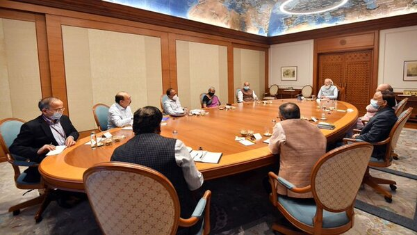 PM Modi chairs meet on situation in Afghanistan