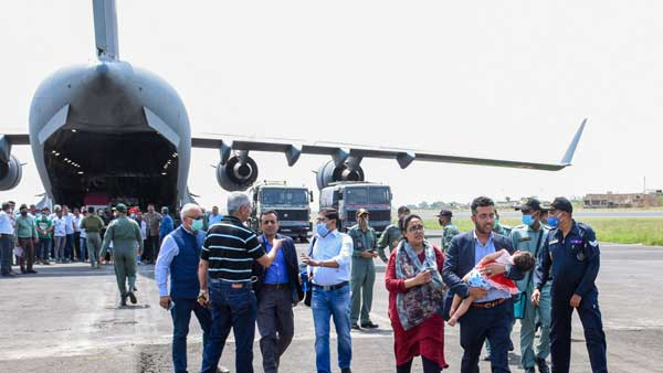 India evacuates 168 people from Kabul