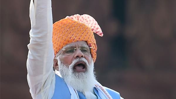75th Independence Day: 'Yahi samay hai, sahi samay hai,' PM Modi recites poem at Red Fort