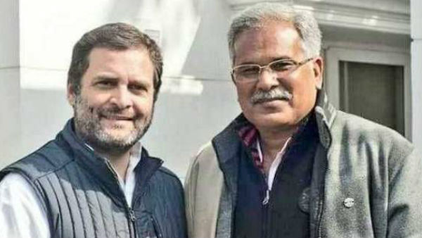 '50-50' CM tenure row: Chhattisgarh CM Baghel, minister Singh Deo meet Rahul Gandhi in Delhi