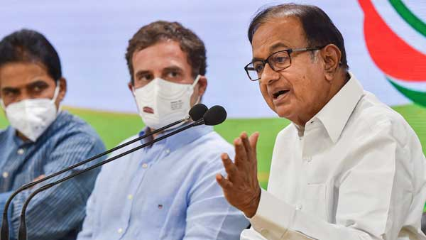 Possible axis of China, Pak and Taliban-controlled Afghanistan cause for worry: Cong leader Chidambaram