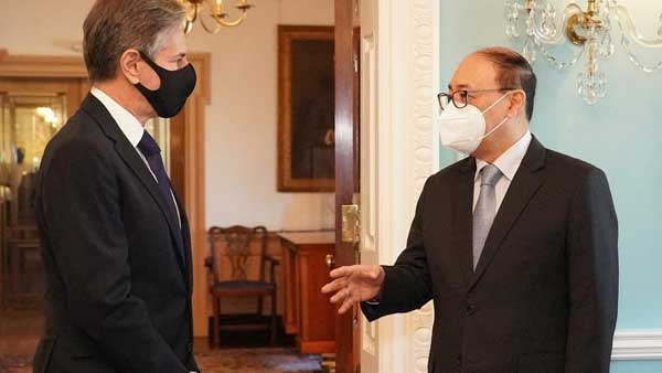 Foreign secy, US Secretary of State discuss Afghan issue