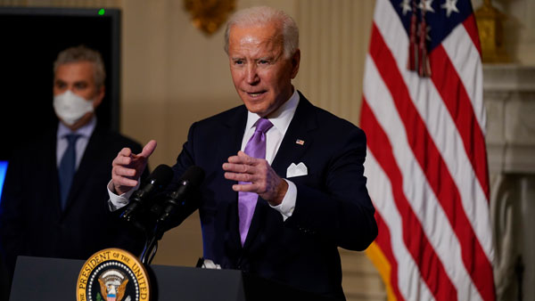 Sure China will work out arrangement with Taliban: Biden