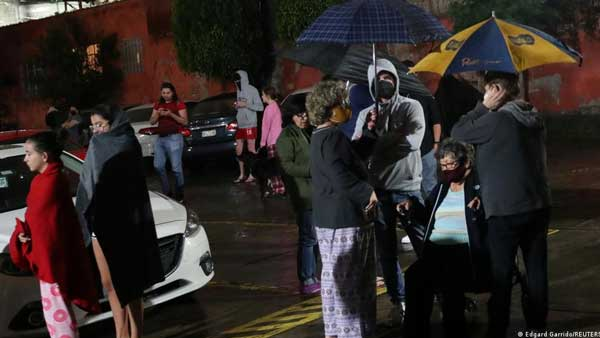 Mexico rocked by strong earthquake
