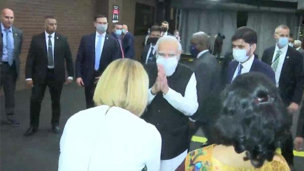 PM Modi reaches New York ahead of UNGA address