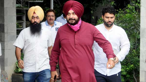 Navjot Sidhu couldn't stand a Dalit was made Punjab CM, alleges AAP