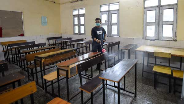 Delhi schools reopen today for classes 9 to 12 amid strict COVID-19 safety guidelines