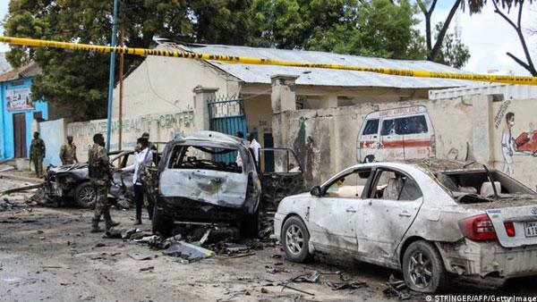 Somalia: Car bomb explodes outside presidential palace