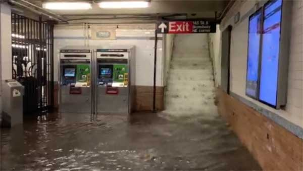 At least 8 deaths as Hurricane Idas remnants hit New York City, New Jersey