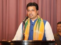 Mizoram Assembly Election 2018 Trioura Cm Biplab Deb To Campaign 2798228.html