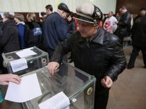 Ukraine Presidential Polls Record 39 Candidates In Fray Comedian Candidate Frontrunner 2872054.html