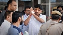 Dk Shivakumar Hospitalised After Complaint Of Chest Pain High Bp 2971045.html