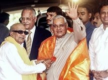 PHOTOS: Former PM Atal Bihari Vajpayee With Leaders