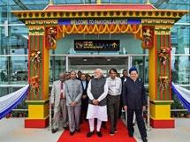 PHOTOS: PM Narendra Modi Inaugurates Sikkim's First Airport At Pakyong