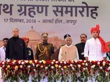 Photos: Ashok Gehlot Sworn In As Rajasthan Chief Minister