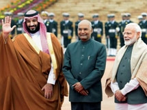 Photos: Saudi Prince Mohammed Bin Salman Two-Day India Visit