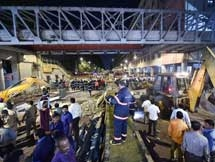Photos: Mumbai Foot Over Bridge Collapse Near CST