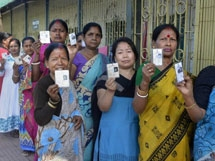 Photos: Lok Sabha Elections 2019 - Polling