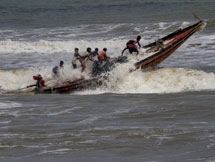 Photos: Cyclone Fani Makes Landfall In Odisha