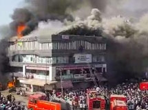 Photos: Fire Accident At A Coaching Centre In Surat