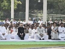 Photos: Former PM Rajiv Gandhi 28th Death Anniversary