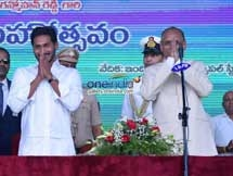 Photos: YS Jagan Mohan Reddy Takes Oath As AP CM