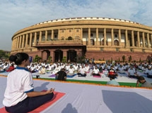 Photos: 5th International Yoga Day 2019