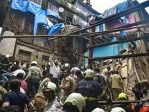Photos: 4 Storey Building Collapse In Mumbai