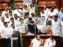 Photos: Karnataka Assembly Session 2019