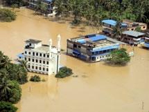Photos: Heavy Rain Lashes Kerala