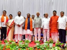 Photos: Karnataka CM BS Yediyurappa Cabinet Expansion