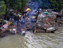 Photos: Heavy Rainfall In Uttar Pradesh